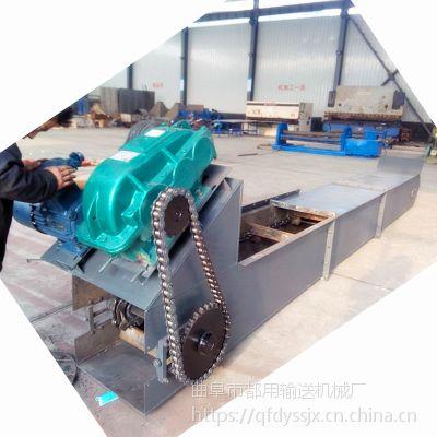 供应刮板输送机定做大提升量 沙子刮板运输机
