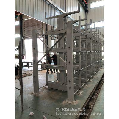 合肥悬臂式货架价格 专业放钢管的架子