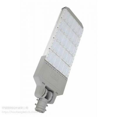 欧司朗灯珠进口光源六模组180W路灯头 新农村改造省级道路防水路灯6米灯杆