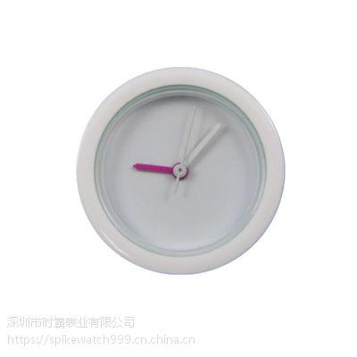 SPIKE手表厂家定制新款高档金属圆形石英钟胆表头