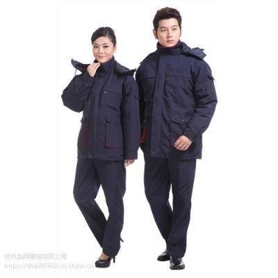 销售苏州苏州冬季棉服员工服订做批发尚美供