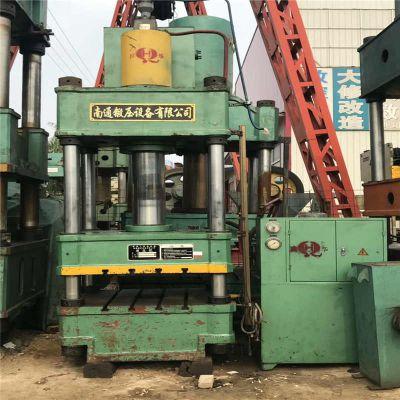 南通2手800吨四柱液压机 三梁四柱双缸压块压饼机