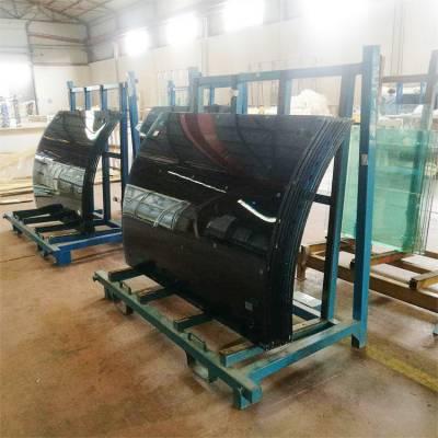 四川弧形玻璃,四川热弯玻璃弧形定制