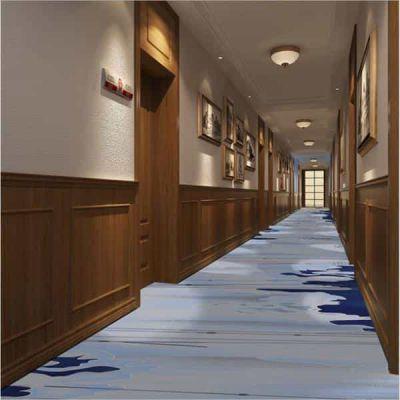 郑州酒店客房走道地毯 定制logo地毯 会客室地毯