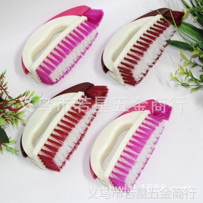 厂家直销时尚颜色双用洗衣刷鞋刷裤子强力清洁刷子硬毛