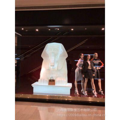 浙江亚克力人物雕塑 时装展模具制作
