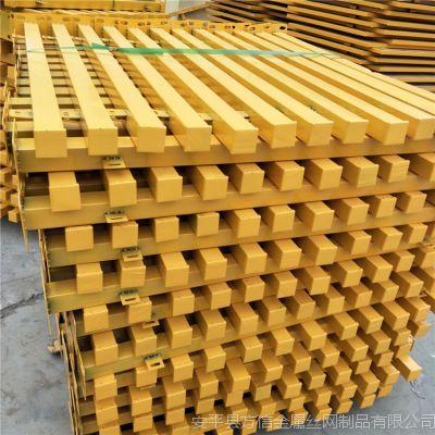 建筑基坑临边防护栏 施工楼层安全围栏网 定型化1.2*2米安全网