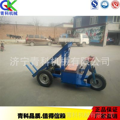 座驾式三轮拉砖车 工地建筑施工用背砖车 供应手摇自卸运砖车