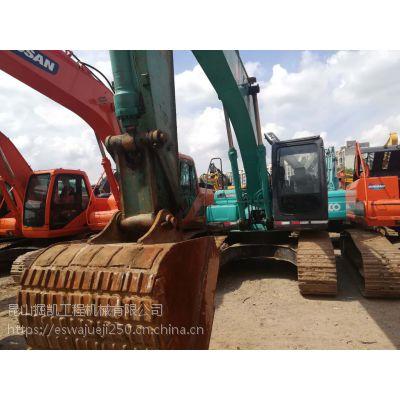 12年神钢200超8二手挖掘机海关进口挖机全国包运输