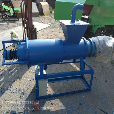电控系数粪便脱水机 过滤猪粪水的干湿分离机