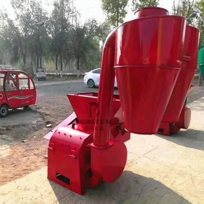 打秧粉碎机 自动进料无尘粉碎机 动物饲料打料机厂家