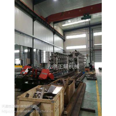 管材切割怎么存储方便机切操作使用 伸缩悬臂式货架