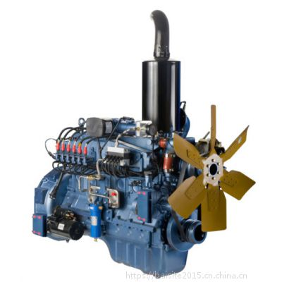 潍柴WP10NG280E30天然气发动机 206kW重卡用国三动力总成
