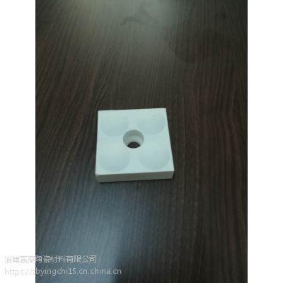 钢厂用带凸点耐磨陶瓷衬板厂家选赢驰70*70*(25+5)
