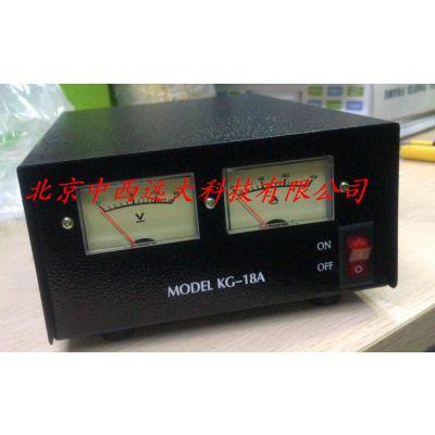 中西厂家稳压电源(KG-18A) 型号:SZ81M-KG18A库号:M185664