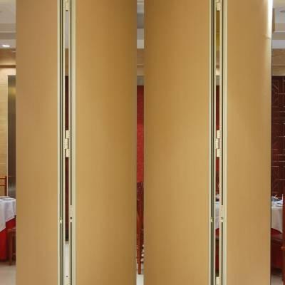 办公室免漆板推拉折叠屏风隔断墙 深圳赛勒尔65型活动隔断吊挂屏风