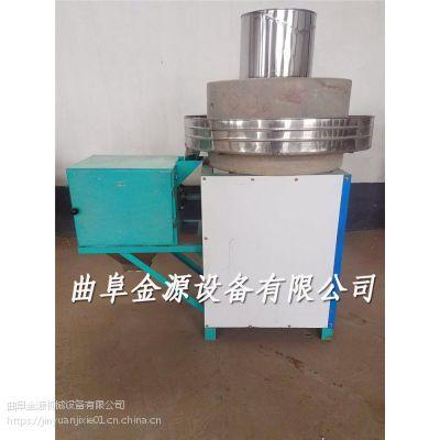 小麦面粉机 全自动电动石磨机 大功率面粉石磨机厂家质保两年