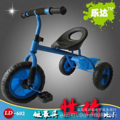 厂家直销儿童三轮车活动赠品男女宝宝脚踏带购物筐