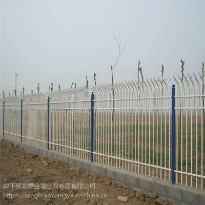 通透式围栏供应 深圳围墙护栏 铁艺栏杆厂家