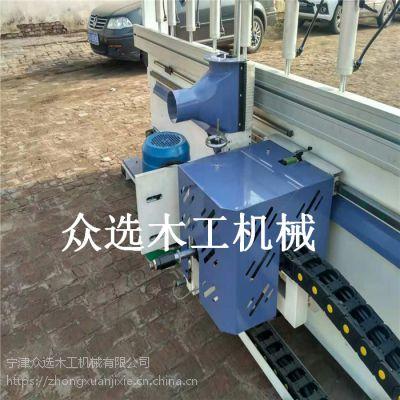 众选木工机械设备曲直线铣边机多功能修边机生产木门设备