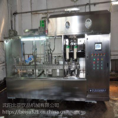 新鲜果汁 浓缩果汁 屋顶型纸盒灌装机厂家 高速设备 沈阳北亚