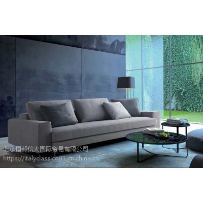 ART NOVA客厅创意简约沙发布艺双人高档沙发