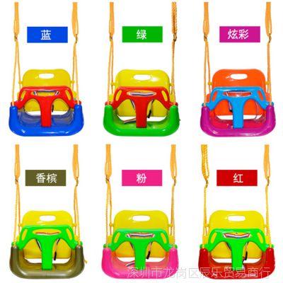 儿童秋千家用婴儿幼儿玩具室内吊椅宝宝户外室外三合一玩具吊篮