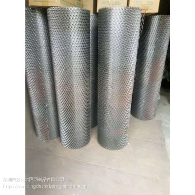 小孔钢板网 菱形网 现货黑色钢板网处理1米宽可定做