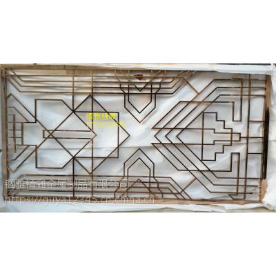 铝板雕刻镂空屏风鋁艺壁画