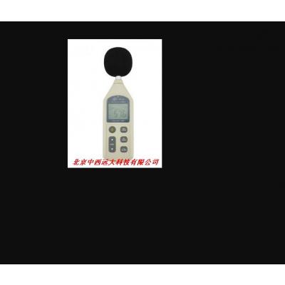 中西 数字式噪音计/分贝仪声级计 型号:1356库号:M6556