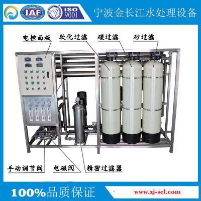 金长江厂家热销1吨双级RO反渗透系统EDI超纯水一体机 全自动水处理设备