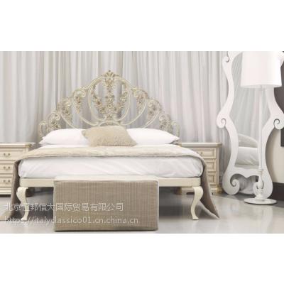 Valente家具卧室床意大利高档品牌古典风格产品