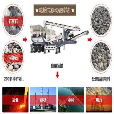 山东的石子生产线 移动式生产线厂家