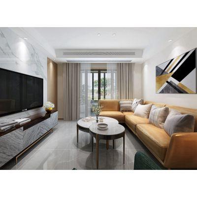 恒大中央广场装修,江北天古装饰洋房设计效果,现代简约风格说明
