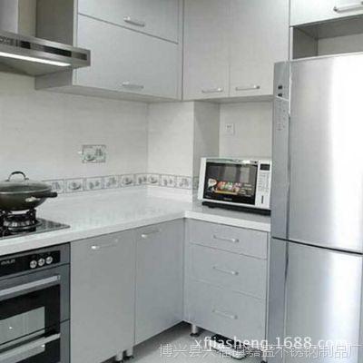长期供应 家用不锈钢厨柜 不锈钢通风柜厨房壁橱橱柜批发【图】