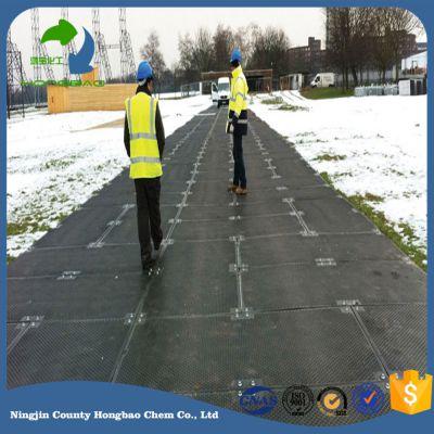 快速安装方便的地面保护铺路板、hdpe聚乙烯临时路板