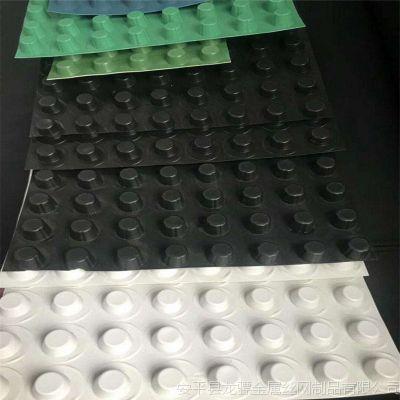 绵阳蓄排水板 蓄排水板材质 钉刺土工布