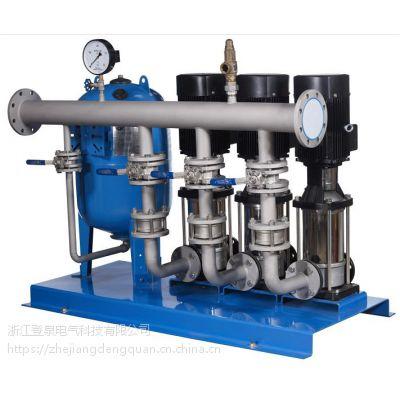 上海全自动变频调速恒压供水设备/CDLF型立式多级不锈钢泵/小区生活供水系统