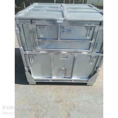 小说液体类产品专用液体折叠吨箱、折叠ibc吨箱、托盘箱、折叠集装箱、吨袋