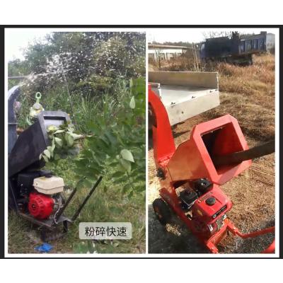 花木树枝粉碎机 粗细秸秆打粉机 大产量的木屑破碎机