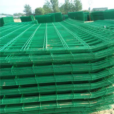 围场地铁丝网 围墙网 钢丝隔离栏