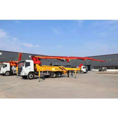 混凝土搅拌运输车泵车哪里买 37米单桥混凝土泵车价格多少