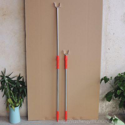 优质耐用长1.6米加厚不锈钢可伸缩衣叉 伸缩撑衣杆晾衣叉 厂家直销