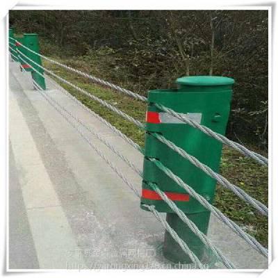 抗冲击力强绳索护栏@绳索护栏厂家供应@钢索防护栏