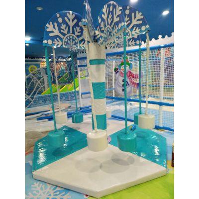 山东大型淘气堡室内游乐园 儿童木质游乐设备