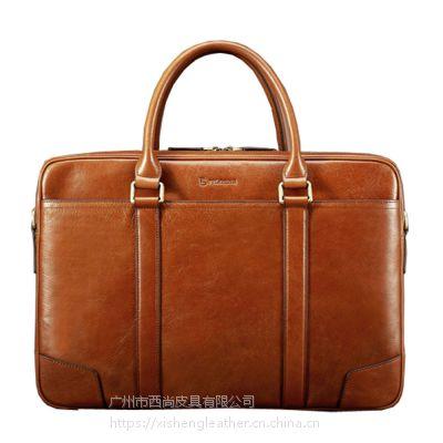 西尚 XS-WT5022 奢华男士商务公文包大容量手提包横款