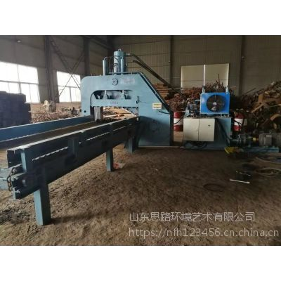 临沂龙门式废铁剪切机厂家 500吨1.5米刀口剪切机价格山东思路定做液压切断机