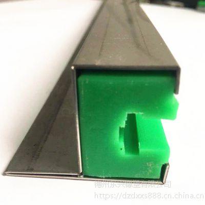 濮阳供应 耐磨链条导轨 以塑代钢聚乙烯定向导槽 耐腐蚀工业输送导轨