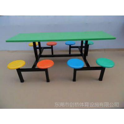 唐家湾镇学校餐厅餐台免费送装、长形条凳餐桌椅批发