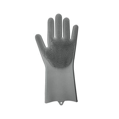 抖音魔力洗碗手套 女神器硅胶加厚耐用多功能清洁家务厨房手套